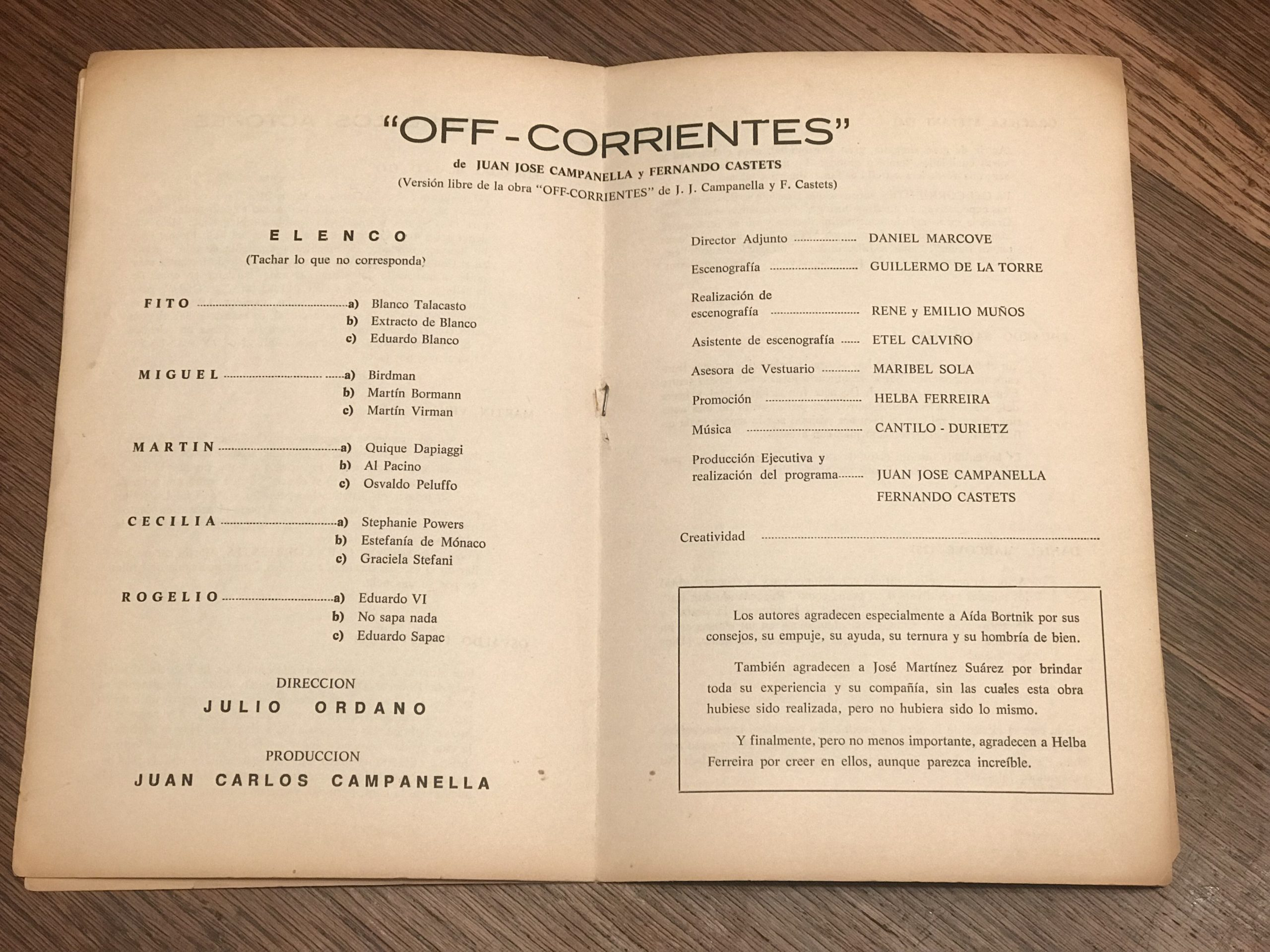 Prólogo por Juan Campanella